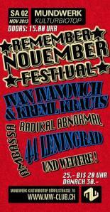 Flyer_Remember-November_Nov2013